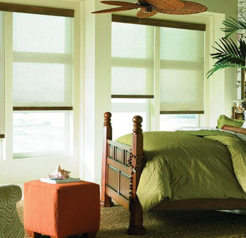 Roman shades and roller shades in Nashville, TN, Brentwood, TN and Franklin, TN, we have the window coverings and window treatments you need for your home.