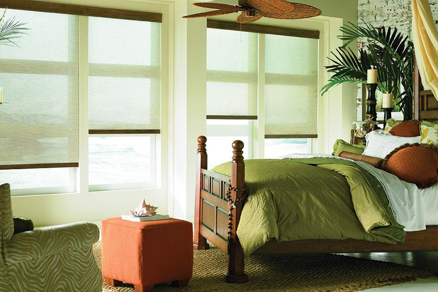 We carry roman shades and roller shades in Brentwood, TN, Nashville, TN and Franklin, TN and customer satisfaction is our #1 goal!