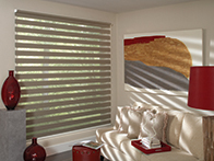 Sheers, shading, drapery and window treatments in Nashville, TN, Brentwood and Franklin, TN at Blinds & Designs.